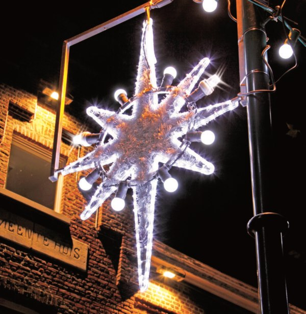 Motif lumineux houston led marseille d corations for Decoration de noel professionnel