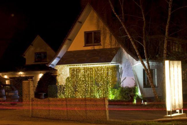 Location sapin lumineux int rieur ou ext rieur toulon for Rideau lumineux interieur
